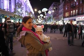 MV Oxford Street, London, December 2011