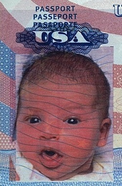 Vera's passport photo until 2016!