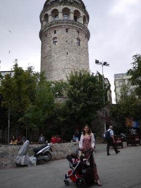 Galata tower stroller